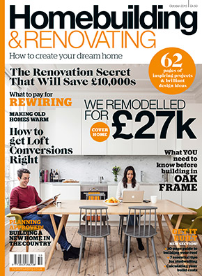 Homebuilding & Renovating Magazine October