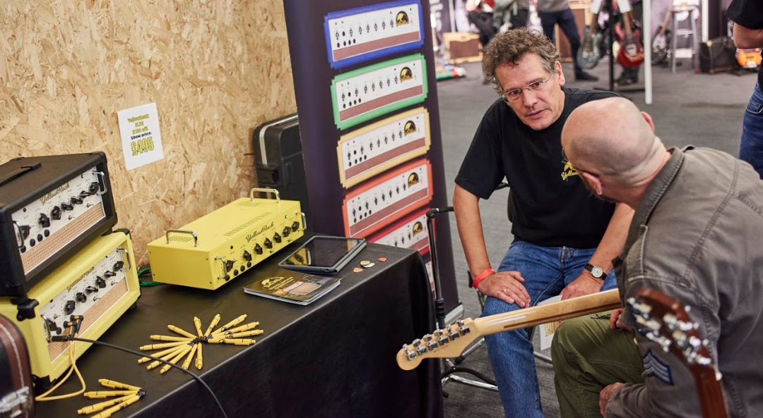 Exhibit at the UK Guitar Show & London Bass Gutar Show