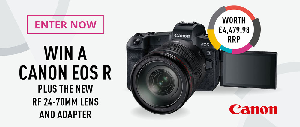 Win a Canon EOS R, plus a lens and adapter!